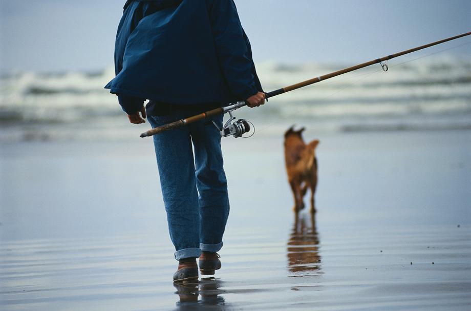 釣り人の落とし物にご用心