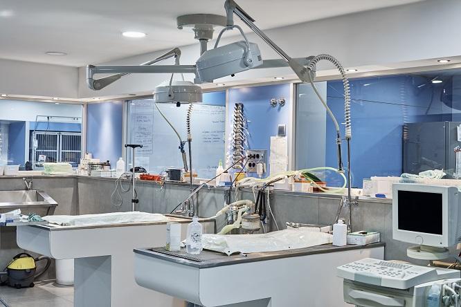 動物病院手術室の風景