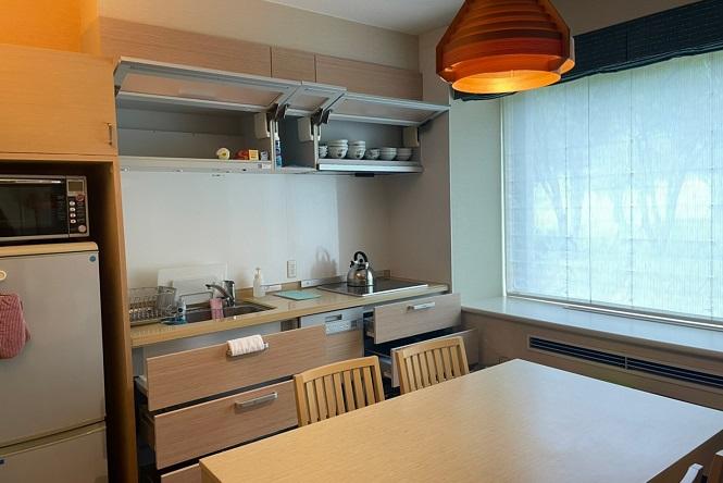 キッチン付き部屋